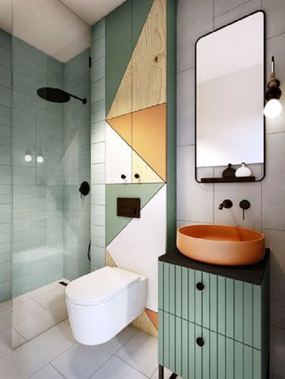 Bathroom Color Ideas 8