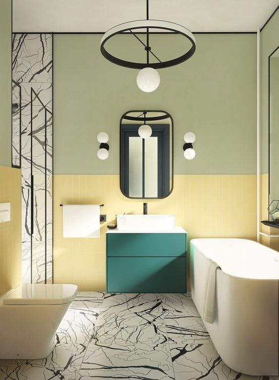 Bathroom Color Ideas 9