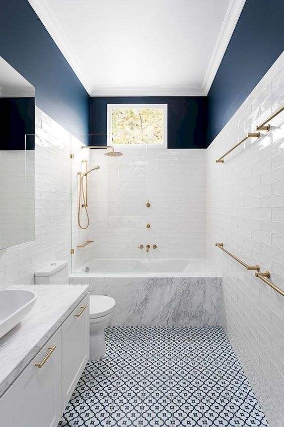 Bathroom Color Ideas 11