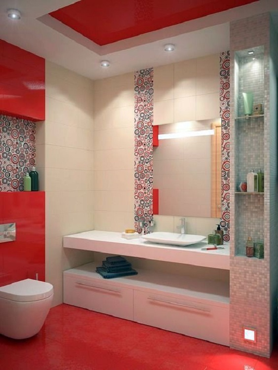 Bathroom Color Ideas 14