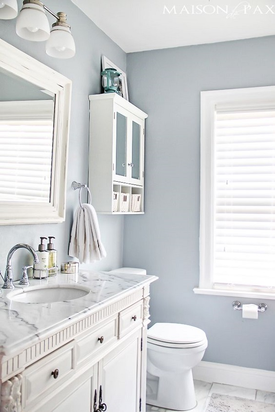 Bathroom Color Ideas: Light Blue