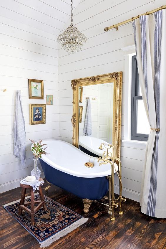Bathroom Decor Ideas: Match the Theme Color