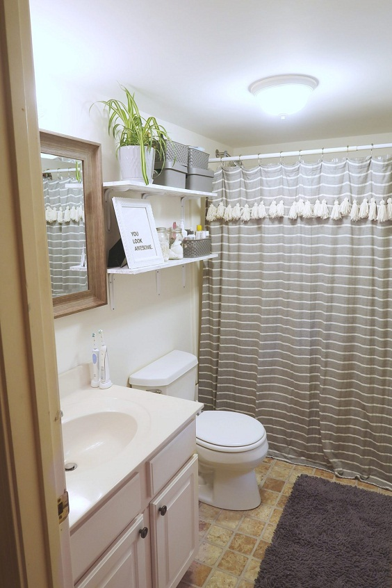 Bathroom Decor Ideas: Combination of Sink and Cabinet