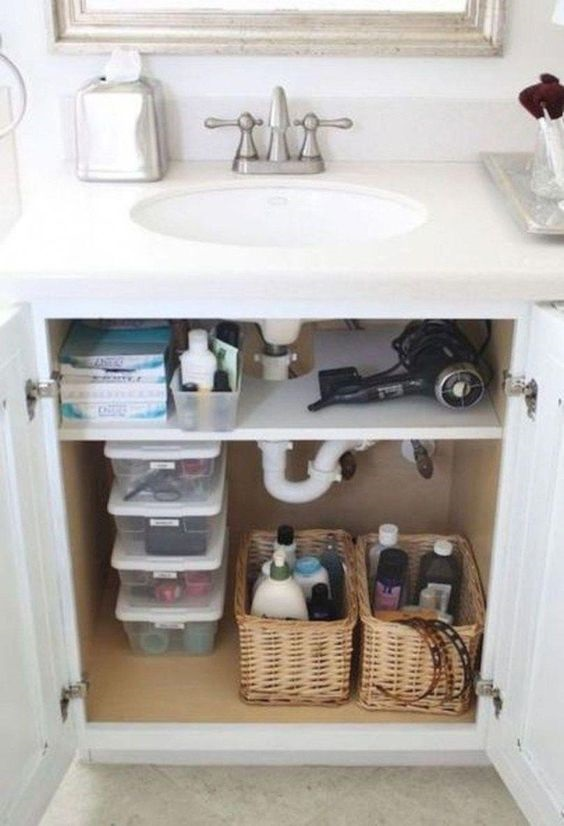 Bathroom Organization Ideas: Make Use of the Topper Cabinet
