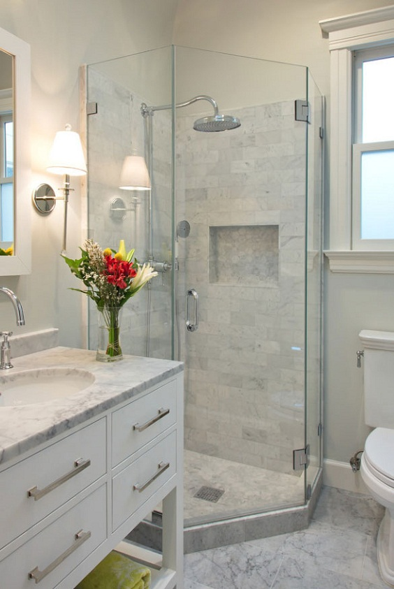Bathroom Remodel Ideas: The Glass Partition
