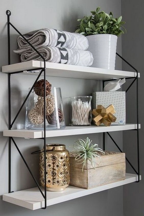 Bathroom Shelves Ideas 1