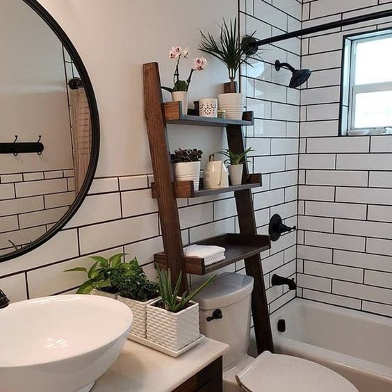 Bathroom Shelves Ideas 10