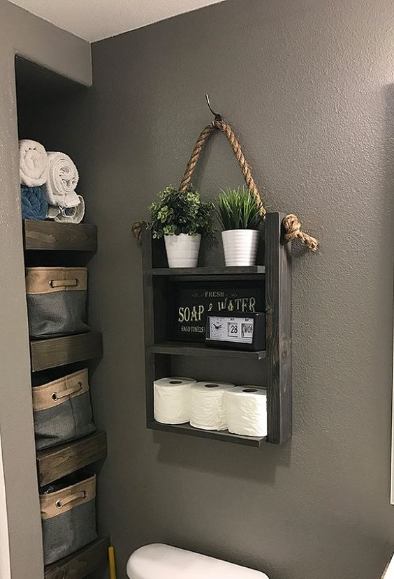 Bathroom Shelves Ideas 4
