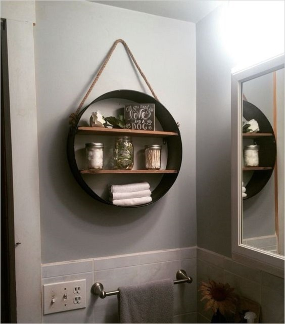 Bathroom Shelves Ideas 5