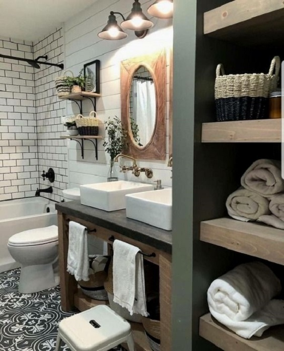 Bathroom Shelves Ideas 9