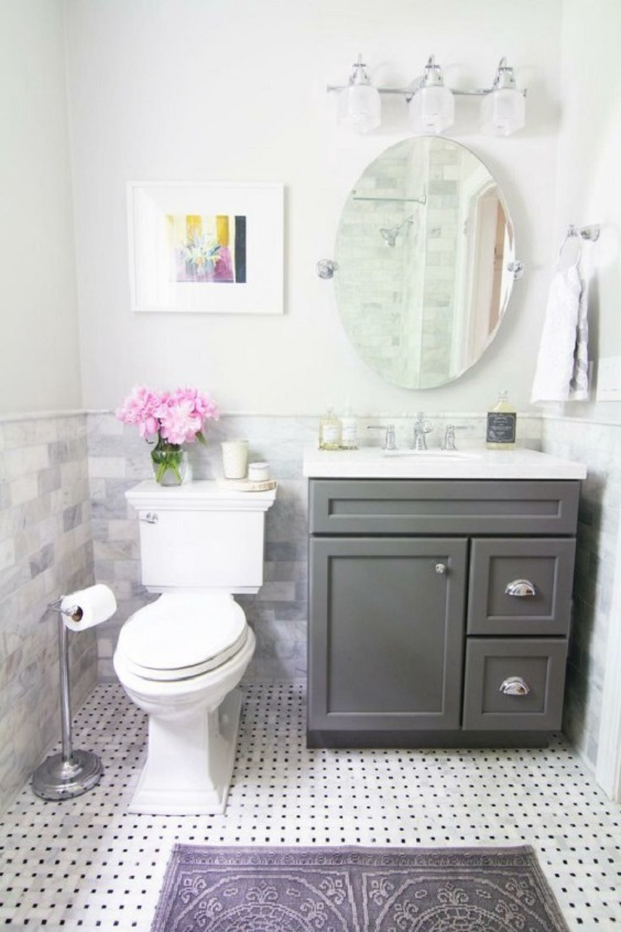 Bathroom Vanity Ideas: Small Design