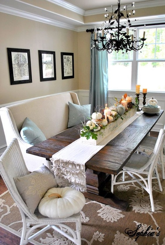 Dining Room Decor Ideas: Capture Fall's Beauty