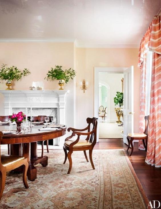 Dining Room Color Ideas: Modern Color Scheme