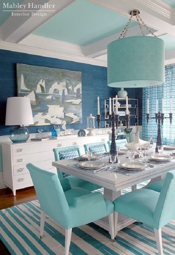 Dining Room Color Ideas 23