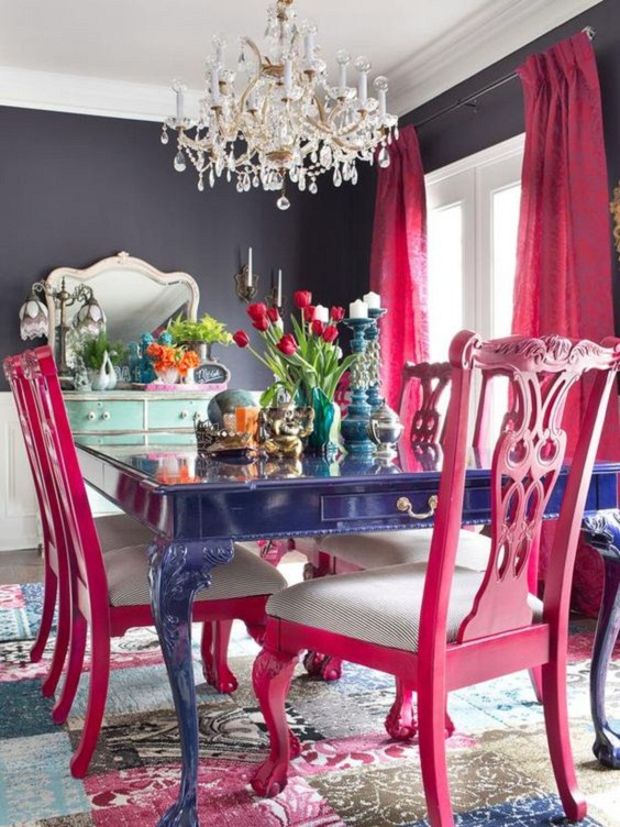 Dining Room Color Ideas 24