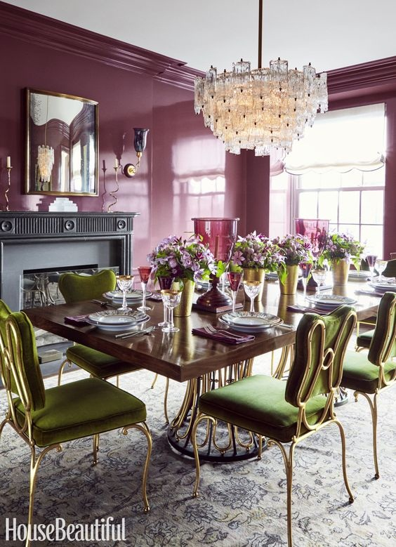 Dining Room Color Ideas 25