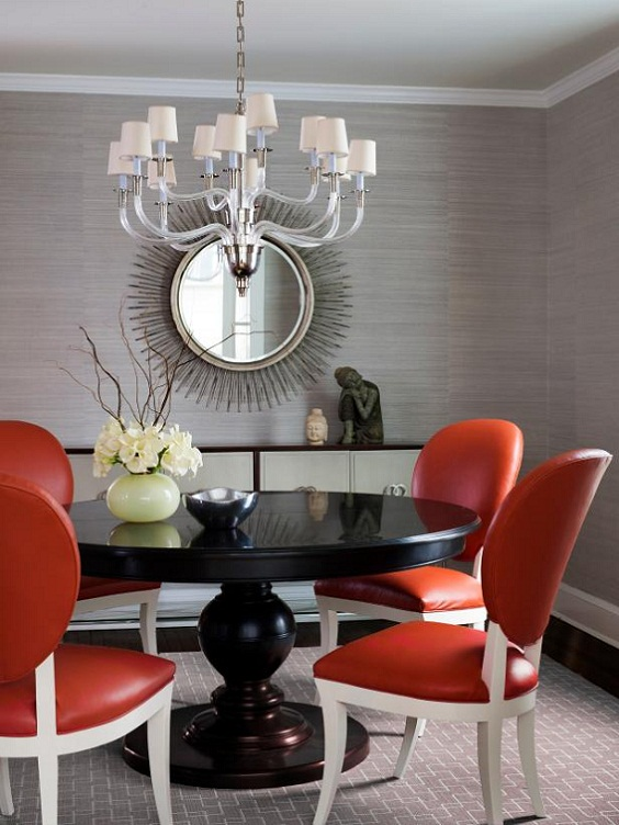 Dining Room Color Ideas: Purple Paint