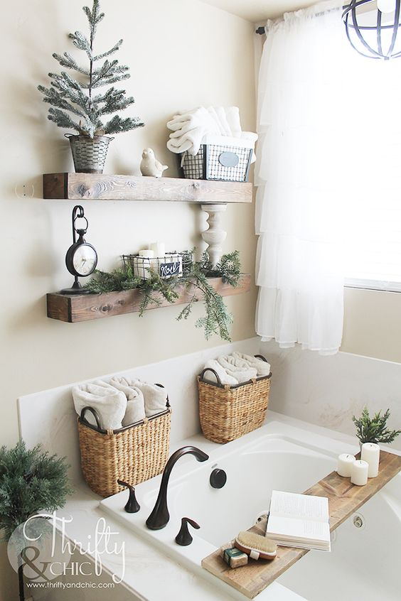 Farmhouse Bathroom Ideas 1