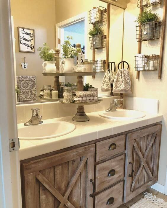 Farmhouse Bathroom Ideas 3