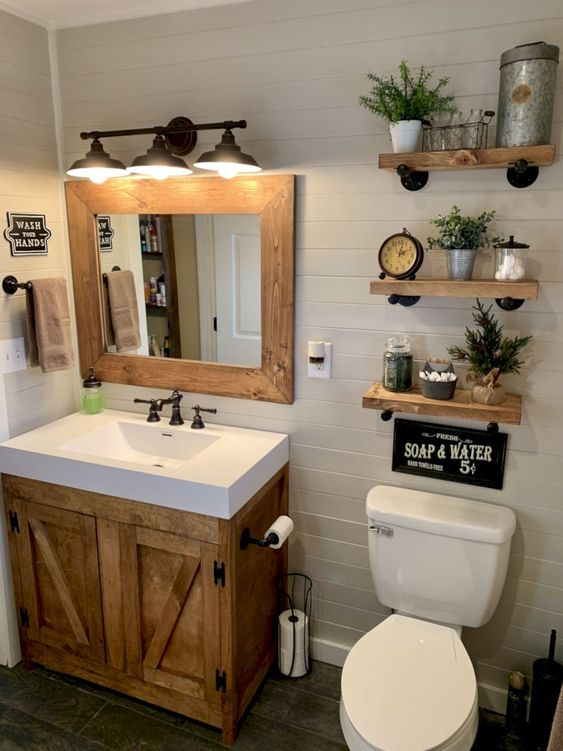 Farmhouse Bathroom Ideas 6