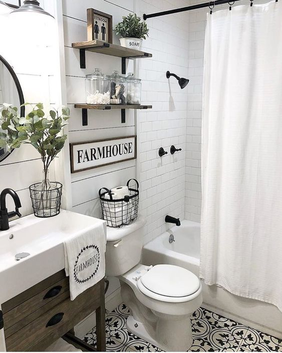 Farmhouse Bathroom Ideas 7