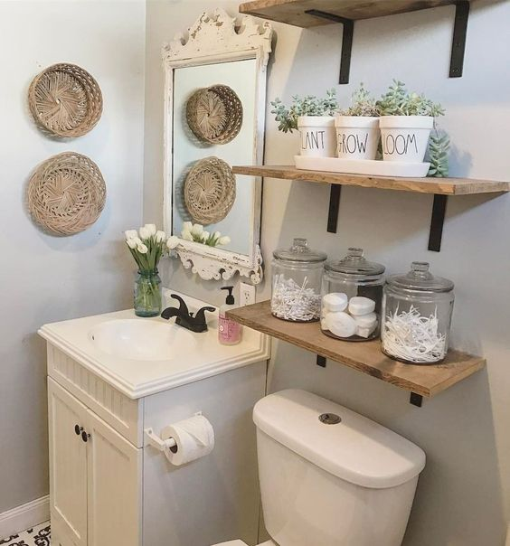 Farmhouse Bathroom Ideas 13