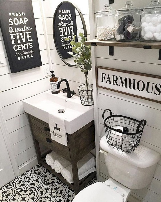 Farmhouse Bathroom Ideas: Spectacular Design