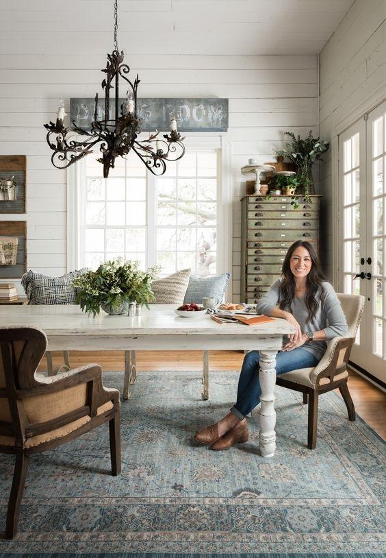 Farmhouse Dining Room Ideas 2