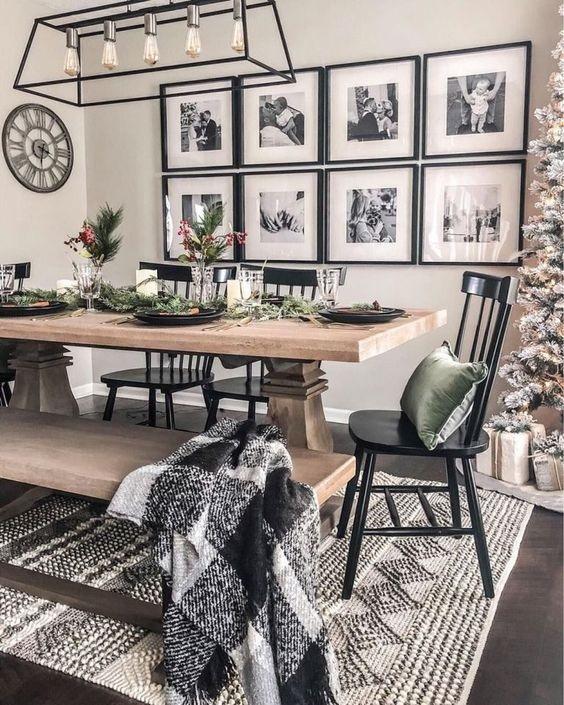 Farmhouse Dining Room Ideas 8