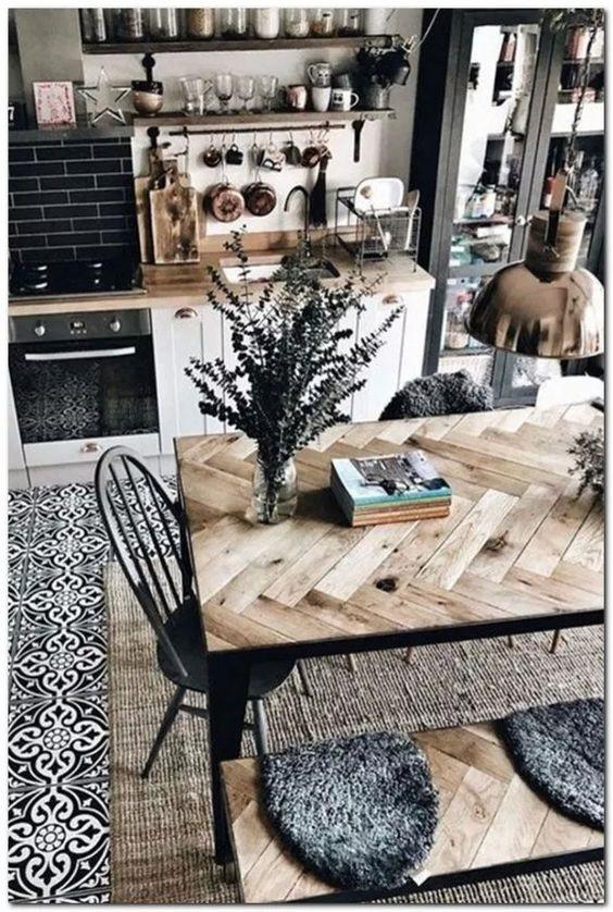 Farmhouse Dining Room Ideas 9