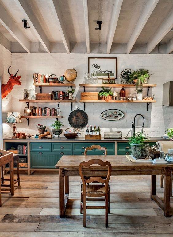 Farmhouse Dining Room Ideas 15