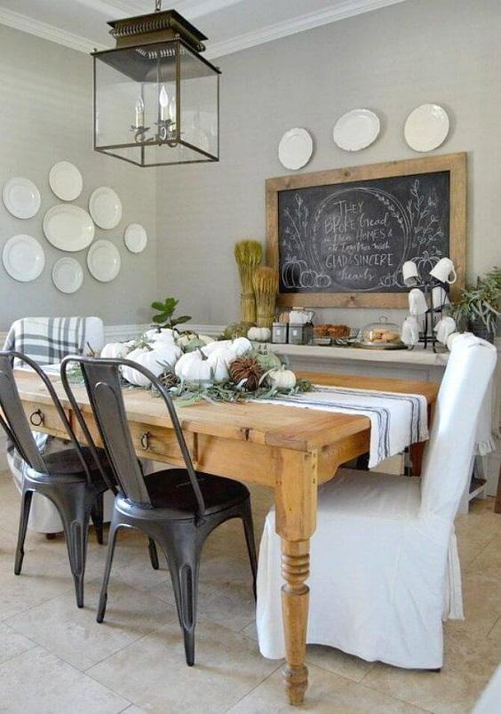 Farmhouse Dining Room Ideas: Simple Decor