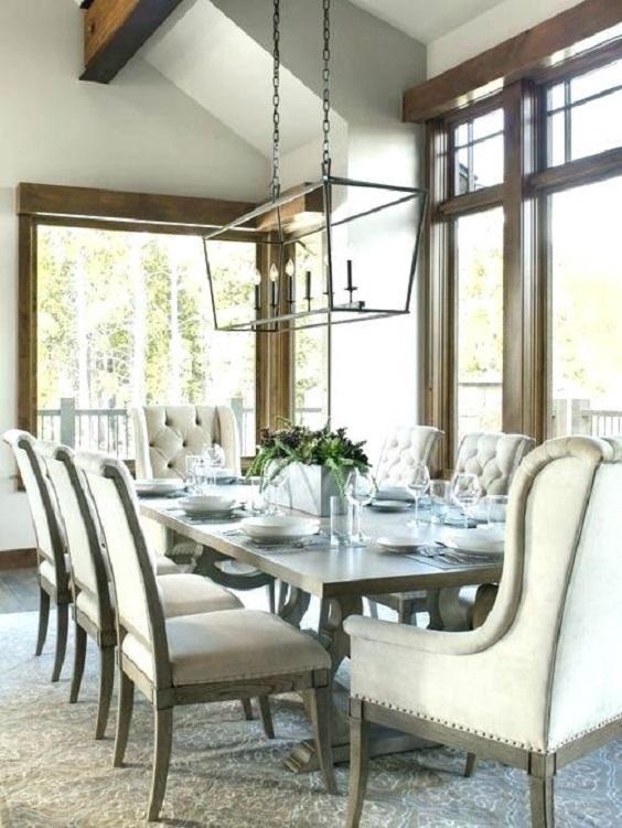 Farmhouse Dining Room Ideas: Modern Look