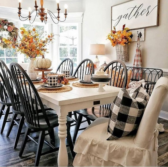 Farmhouse Dining Room Ideas: The Country Warm Look