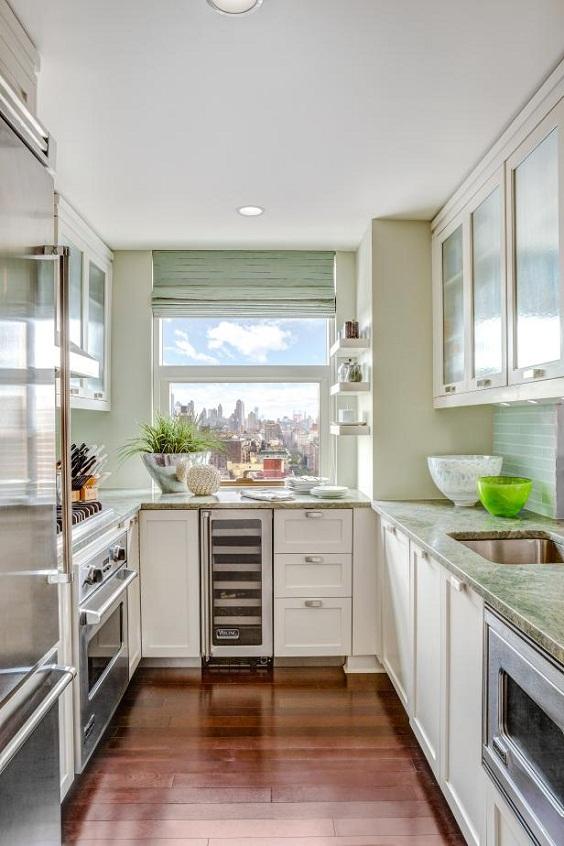 Kitchen Remodel Ideas: Beautiful Efficient Small Kitchen