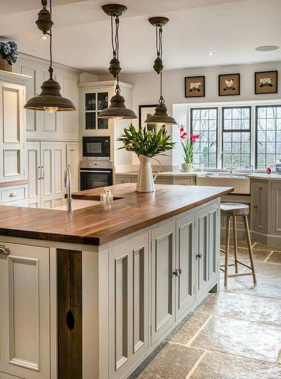 Farmhouse Kitchen Ideas: Rustic Modern