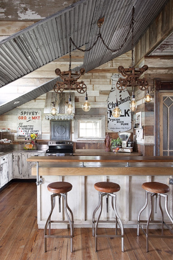 Farmhouse Kitchen Ideas: Country Look