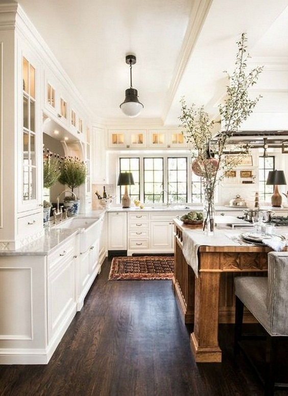 Farmhouse Kitchen Ideas: Elegant Look