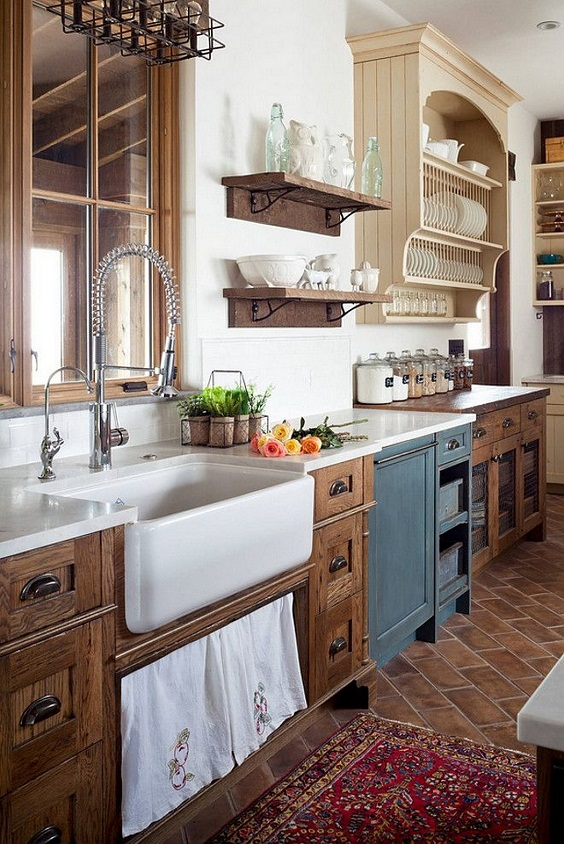 Farmhouse Kitchen Ideas: Inspiring Rustic