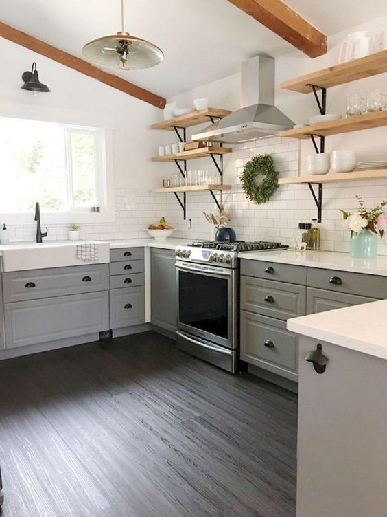Farmhouse Kitchen Ideas: Awesome Rustic