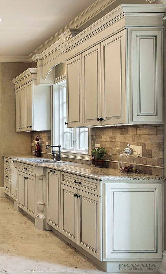 Kitchen Cabinet Ideas: Simple Old Look