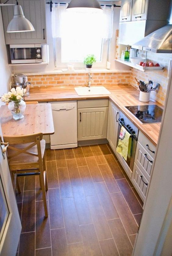 Apartment Kitchen Ideas: Stunning Small Kitchen