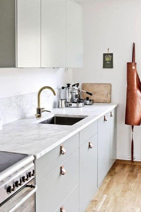 Apartment Kitchen Idea: Simple Look
