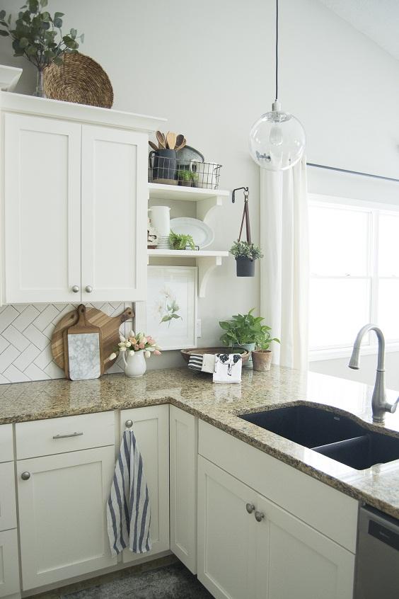 Kitchen Ideas: Spring Kitchen Decor