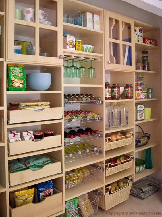 Kitchen Organization Ideas: Orderly Arrangement