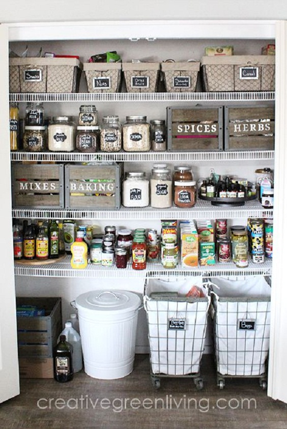 Kitchen Organization Ideas: Make Use of Boxes