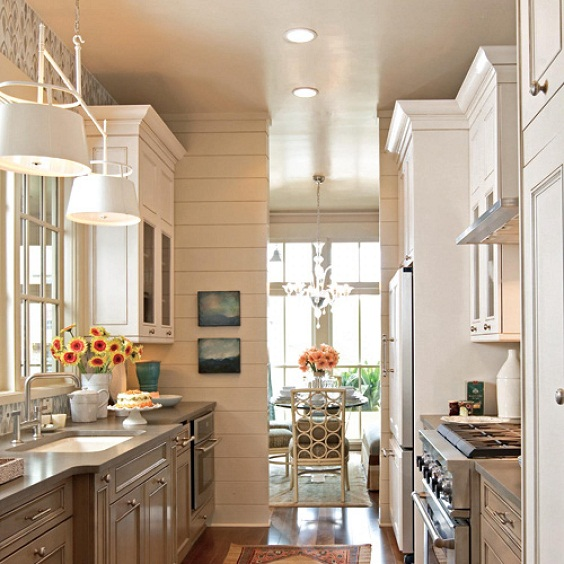Kitchen Layout Ideas: Beautiful Efficient Small Kitchen