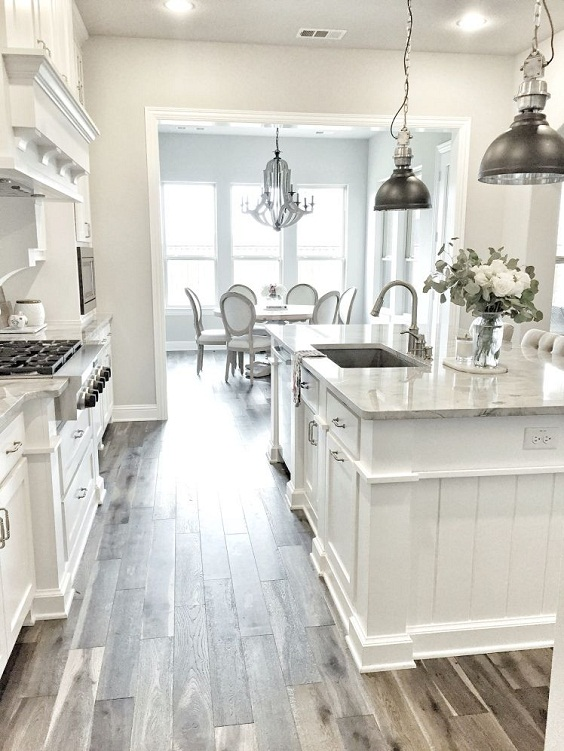 White Kitchen Ideas: Luxury Design