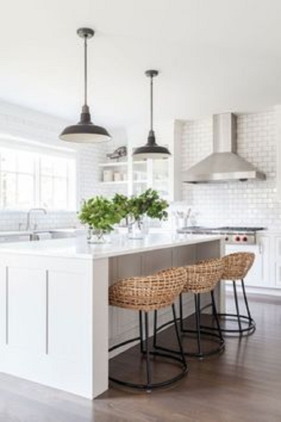 White Kitchen Ideas: Modern Look
