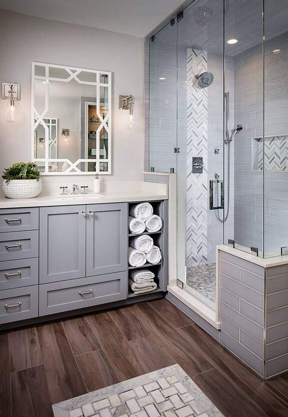 Master Bathroom Ideas: Bigger Space for Shower